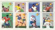 Zaire MNH Football Set And SS - Wereldkampioenschap