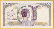 BILLET FRANCAIS - 5000 Francs Victoire 18.3.1943 SUP - 1871-1952 Anciens Francs Circulés Au XXème