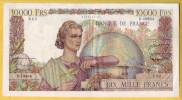 BILLET FRANCAIS - 10000 Francs Génie Français 2.2.1956 TTB - 1871-1952 Anciens Francs Circulés Au XXème
