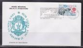 = Saint Macaire Cité Médiévale Musée Régional PTT Enveloppe N°2047 Europa Boule De Moulins Flamme 12.2.85 - Marcophilie (Lettres)