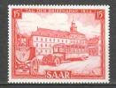 Germany Saarland 1954 Mi 349 MNH AUTOBUS - 1947-56 Gealieerde Bezetting