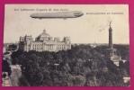 ZEPPELLIN III  SU BERLINO - CARTOLINA PER TRESTE E LI TASSATA  IN DATA 22/6/1910 - ....-1914: Precursori