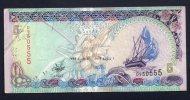 MALDIVE - 5 RUFIYAA 1998 - SPL - Banconote