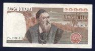 20000 LIRE Tiziano 21/2/1975 - BB - [ 2] 1946-… Republik