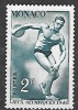 1948 Monoco Olympics 2fr Disc, Mint Light Hinged - Unused Stamps