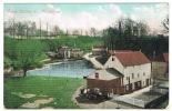 RB 1083 - 1907 Postcard - Loose Valley Lake & Houses - Near Maidstone Kent - England