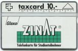 388 - Kundenkarte Glaxo ZINAT - Suisse