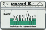 388 - Kundenkarte Glaxo ZINAT