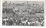 WW2 PHOTO MARSEILLE Militaire Français Et Legion'honneur Defile Funeraire Victimes Combatants ALGERIE MAROC TUNISIE - Krieg, Militär