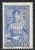 1942 Monoco Semi-postal 2c + 3c, Mint Light Hinged - Unused Stamps