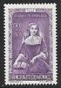 1942 Monoco Semi-postal 50c + 50c, Mint Light Hinged - Unused Stamps