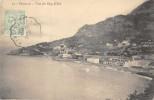 MONACO  -  Vue Du Cap D' Ail ( Cachet  + Timbre ) - Monaco