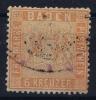 Baden Mi Nr 11 A ,   1860 Used - Baden