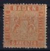 Baden Mi Nr 11 A ,   1860 Used