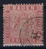 Baden Mi Nr 12 ,   1860 Used - Baden