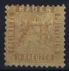 Baden Mi Nr 15 B  , Ocker 1862 MH/* Has NO Thin Spot   Signed/ Signé/signiert/ Approvato
