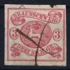 Braunschweig Mi Nr 12  Used  1861 - Braunschweig