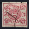 Braunschweig Mi Nr 12  Used  1861 - Brunswick