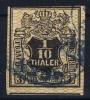 Hannover Mi Nr 12 Yv Nr 13   Used  1856