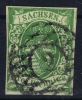 Sachsen  Mi Nr 2 I C  Yv Nr 6 B   1851   Used