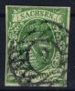 Sachsen  Mi Nr 2 I C  Yv Nr 6 B   1851   Used - Sachsen