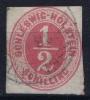 Schleswig Holstein  Mi Nr 8  Yv Nr 3 1865 Used