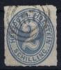 Schleswig Holstein  Mi Nr 11  Yv Nr 13 1865 Used