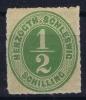 Schleswig Holstein  Mi Nr 13  Yv 18    1865 MH/*