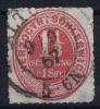 Schleswig Holstein  Mi Nr 15  Yv 21   1865 MH/* Signed/ Signé/signiert One Corner Thin