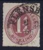 Schleswig Holstein  Mi Nr 14  Yv 20   1865 Used