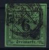 Württemberg  Mi Nr 3  Yv 3   1851  Used - Wuerttemberg