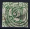 Thurn Und Taxis   Mi Nr 14  Yv  8   1859 Used