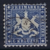 Württemberg Mi Nr  27 C    Yv 27 1863 Used Signed/ Signé/signiert - Wuerttemberg