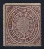 NDP  Mi Nr 12    1868 Not Used (*) SG  Hamburg - Norddeutscher Postbezirk (Confederazione Germ. Del Nord)