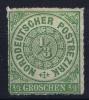 NDP  Mi Nr 2  Yv 2   1868 MH/* - Norddeutscher Postbezirk