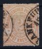 NDP  Mi Nr 8  Yv 8   1868 Used - Norddeutscher Postbezirk