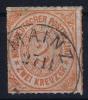 NDP  Mi Nr 8  Yv 8   1868 Used - North German Conf.