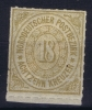 NDP  Mi Nr 11  Yv 11   1868 MH/* Randstuck