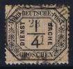 NDP  Dienstmarken Mi Nr 1 Used