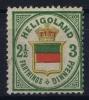 Helgoland: Mi Nr 17 A  MH/* Signed/ Signé/signiert  Brun   1873 - Héligoland