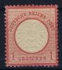 Deutsches Reich:  Mi Nr 19 MH/* 1872  GB