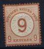 Deutsches Reich:  Mi Nr 30  Yv 29  MH/* 1874 - Ungebraucht