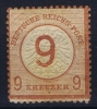 Deutsches Reich:  Mi Nr 30  Yv 29  MH/* 1874