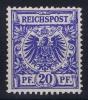 Deutsches Reich:  Mi Nr 48  Yv 48  MNH/** Postfrisch 1889 - Ungebraucht