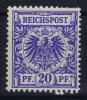 Deutsches Reich:  Mi Nr 48  Yv 48  MNH/** Postfrisch 1889 - Unused Stamps