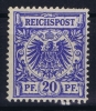 Deutsches Reich:  Mi Nr 48  Yv 48  MNH/** Postfrisch 1889
