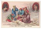 Chromo LA FRANCE FORMEE PAR LES PROVINCES : Bourgogne / Louis XI Charles Le Temeraire Le Corps Retrouvé De Charles - Non Classificati