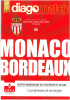 Programme Football 2008 2009 ASM Monaco C Bordeaux – France - Books