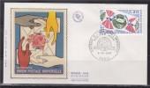 = Centenaire De L'Union Postale Universelle UPU Enveloppe 1er Jour Paris 5.10.74 N°1817 U.P.U. - 1970-1979