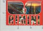 CARTOLINA VG ITALIA - RIMINI - Tramonto - Vedutine - 10 X 15 - ANN . 19?? - Rimini